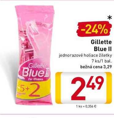 Gillette Blue II 7 ks