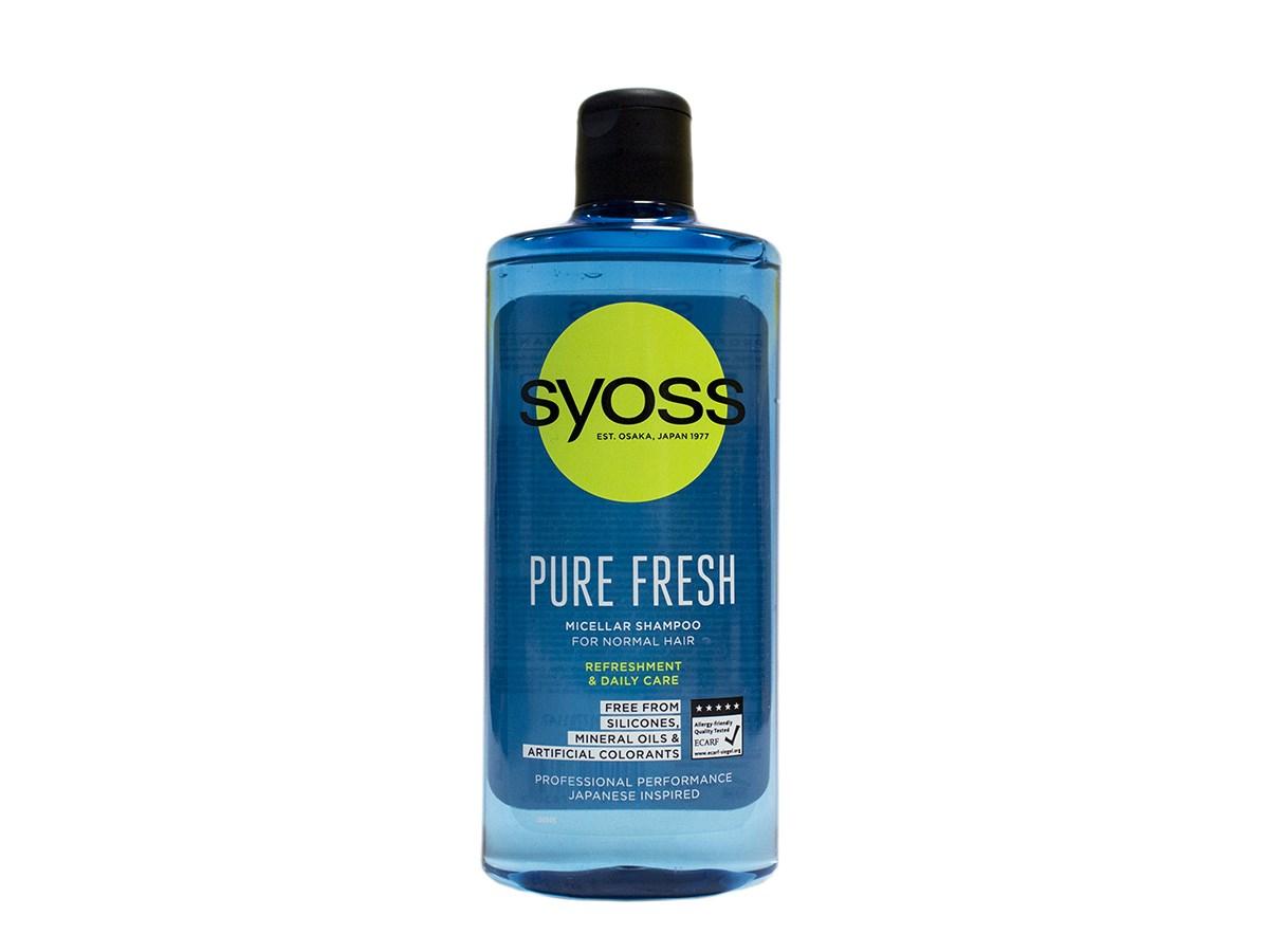 Syoss Pure Fresh šampón na vlasy 1x440 ml