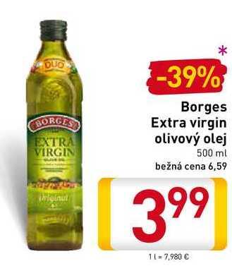 Borges Extra virgin olivový olej 500 ml