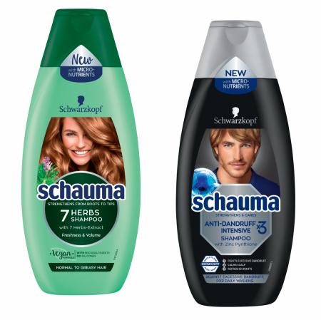 Schauma šampóny