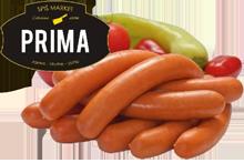 Párky Prima, Prima mini, 100 g