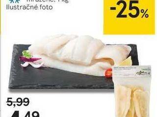Filety z aljašskej tresky, 1 kg