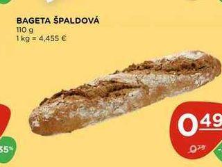 BAGETA ŠPALDOVÁ 110 g