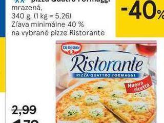 Dr. Oetker Ristorante pizza Quatro Formaggi, 340 g