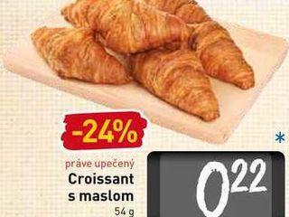 Obrázok  Croissant s maslom 54 g