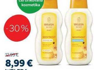 WELEDA Nechtíkový dojčenský olej/šampón, 200 ml