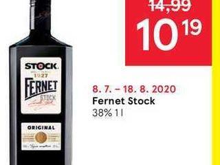 Fernet Stock 38 %, 1 l