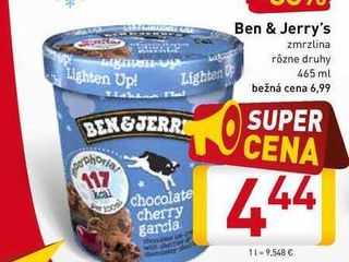 Ben & Jerry's  465 ml