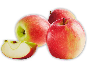 Obrázok Červené jablká
