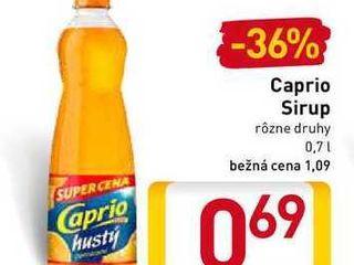 Caprio Sirup 0,7 l