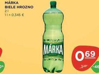 MÁRKA BIELE HROZNO 2 l
