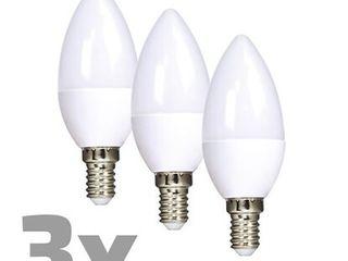 LED žiarovka sviečka 6 W E14, 3000 K