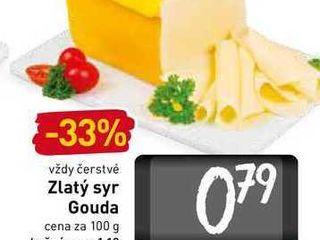 Zlatý syr Gouda  100 g