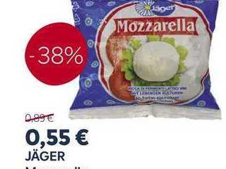 Obrázok Jäger Mozzarella 100g