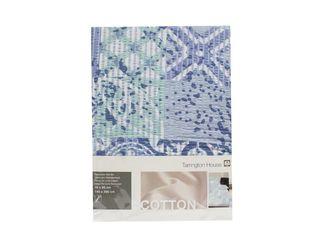 Obliečka krepová úprava Gots 140x200 cm modrá Tarrington House 1ks