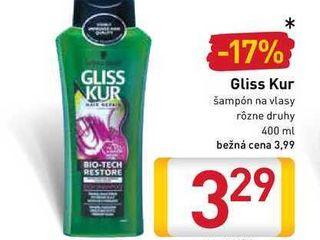 Gliss Kur šampón na vlasy 400 ml
