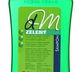 Dm Zelený šampón na vlasy 3x100 ml