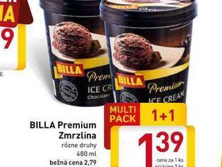 BILLA Premium  Zmrzlina  480 ml