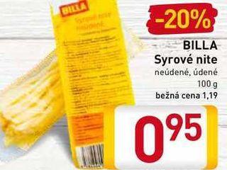 Obrázok  BILLA Syrové nite 100 g