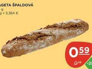 Obrázok BAGETA ŠPALDOVÁ 110 g