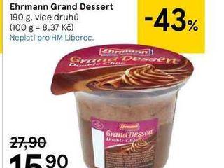 obrázek  Ehrmann Grand Dessert, 190 g