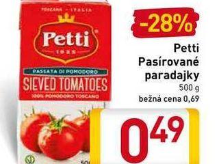 Petti Pasírované  paradajky 500 g
