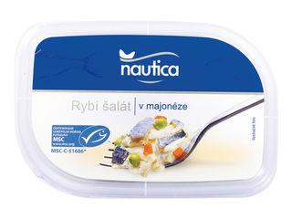 Rybací šalát v majonéze