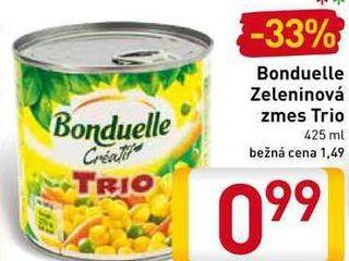 Obrázok   Bonduelle Zeleninová zmes Trio  425 ml