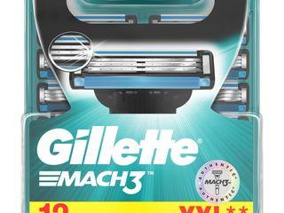 Gillette Mach 3 náhradné hlavice 1x12 ks