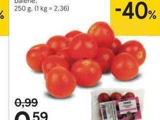 Tesco paradajky cherry, 250 g