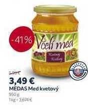 MEDAS Med kvetový, 950 g