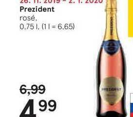 Prezident, 0,75 l