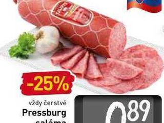 Obrázok   Pressburg saláma  100 g