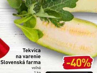 Tekvica na varenie Slovenská farma volná 1 kg