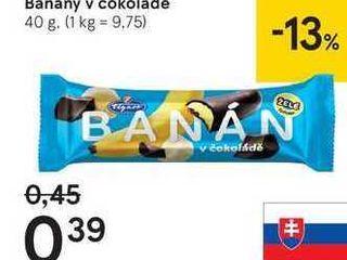 Banány v čokolade, 40 g