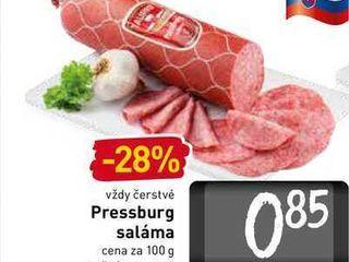 Pressburg saláma 100 g
