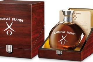 Karpatské brandy XO 40% 0,70 L
