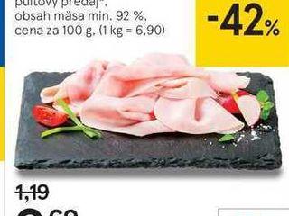 Zipser šunka, 100 g