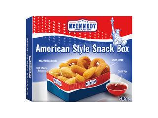 Snack box s omáčkou
