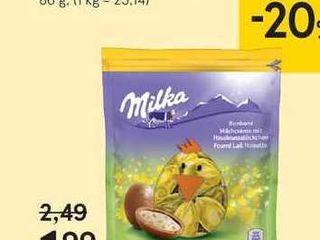 Obrázok Milka bonbóny Milk & Nuts, 86 g