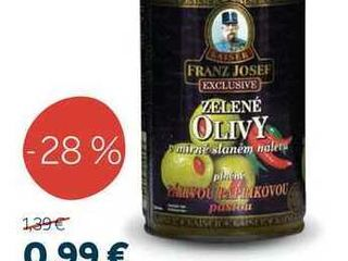 FRANZ JOSEF EXCLUSIVE Olivy 314 ml