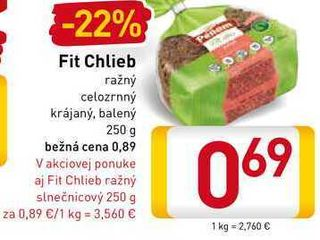 Fit Chlieb 250 g