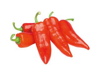 Paprika červená špicatá