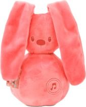 Obrázok Hudobná hračka ružový zajačik, 1 ks