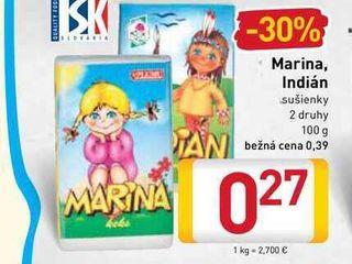 Marina, Indián sušienky 2 druhy 100 g