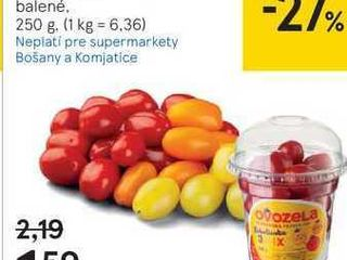 Obrázok Cherry paradajky datľové mix, 250 G