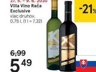 Villa Vino Rača Exclusive, 0,75 l