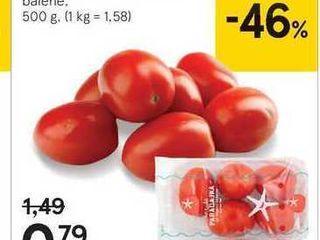 Tesco paradajky datľové, 500 g