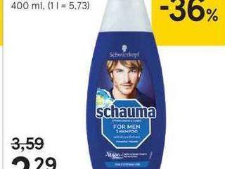 Schauma Šampón na vlasy, 400 ml