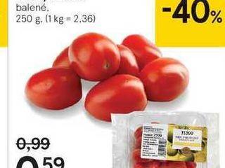 Tesco Baby paradajky cherry datl'ové, 250 g